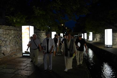 「光の天の川」が織りなす幻想の世界! 「京の七夕」を堪能