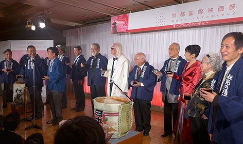 京都から映画・アートを世界に発信 「第2回京都国際映画祭が開幕(10/15~18)」が開幕