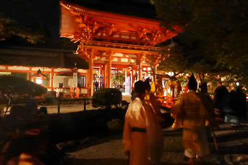 上賀茂神社第42回式年遷宮(正遷宮)