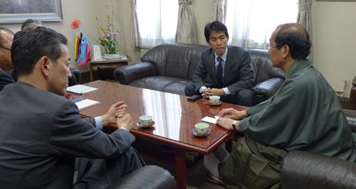 アメリカ運輸省からご着任 馬渡 真吾 京都国道事... 市内の国道は、国と京都市が連携して管理。
