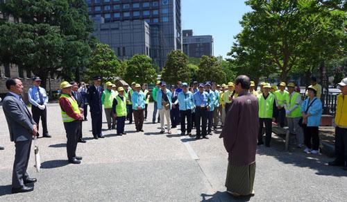 交通事故のない安心安全な京都を目指して 春の全国交通安全運動がスタート