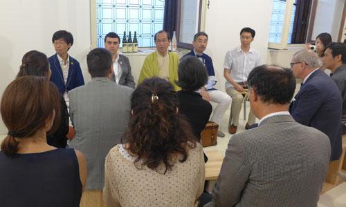 マルコ・マッサロットさんを京都国際観光大使に