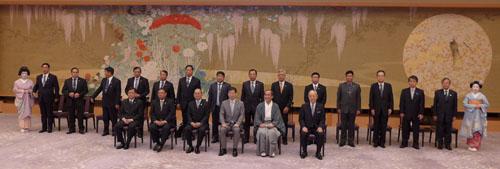 ミャンマー テイン・セイン大統領がご入洛