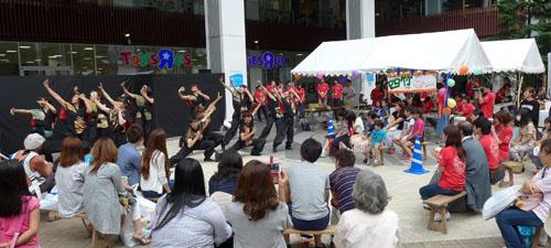 学生祭典「京炎そでふれ」@イオンモール京都